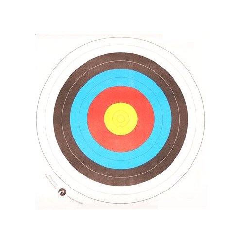 Archery Target Faces 80cm - (Quantity 10) from Archery World