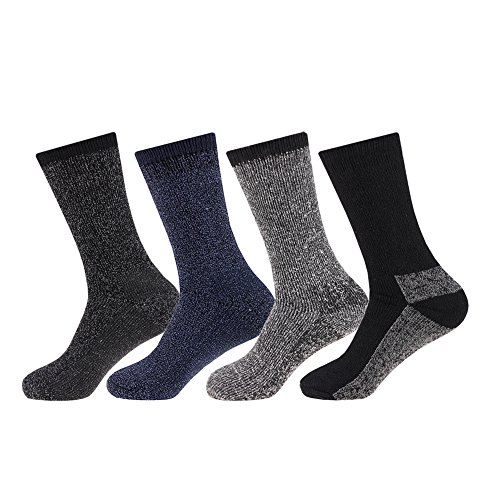 NEW 4 pairs Mens Arctic Comfort ® Thick Thermal Wool Socks High Tog Rating UK Size 6-11 EUR size 39-45 from Arctic Comfort