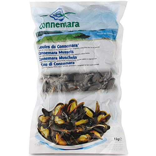Connemara Frozen Whole Mussels - 5x1kg from Arctic Royal