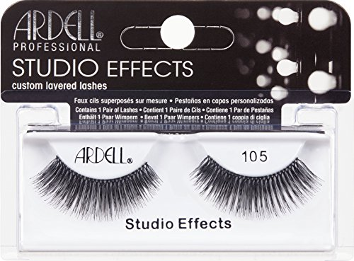 Ardell Number 105 Studio Effect, Black lashes from Ardell