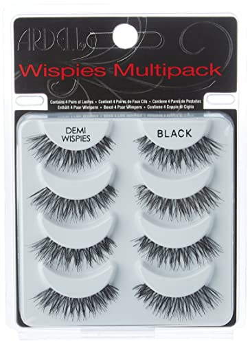 Ardell Wispies Multipack Lashes, Pack of 4 from Ardell