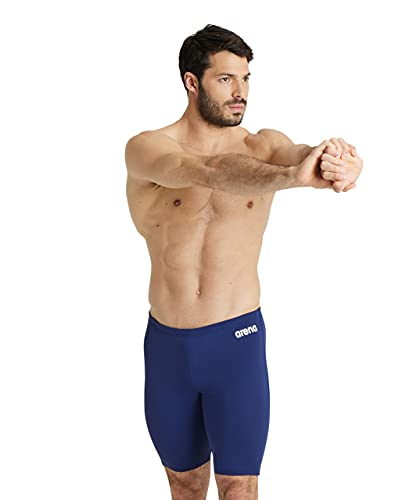 Arena Men's Solid Jammer - Navy/White, 32 (Manufacturer size:4) from Arena