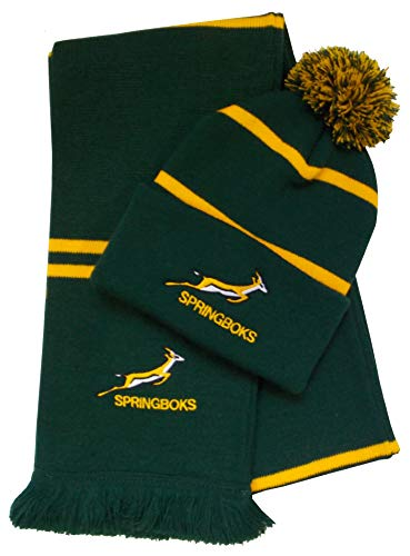 dc151b7623f South Africa Rugby Bobble Hat and Scarf from Arena