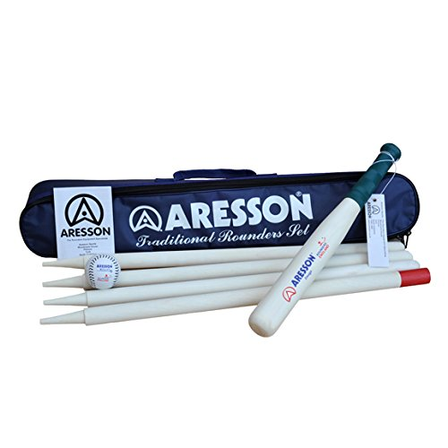 Aresson Traditional Rounders Set - Black/Navy, Adult from Aresson