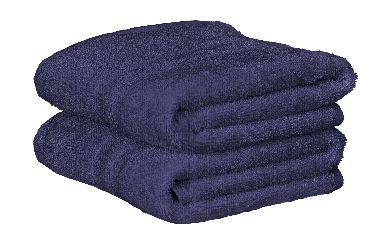Argos Home Pair of Hand Towels - Navy from Argos Home