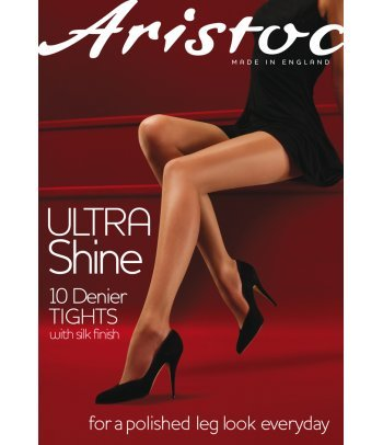 Aristoc Ultra Shine Tights Vaguely Black Extra Large from Aristoc