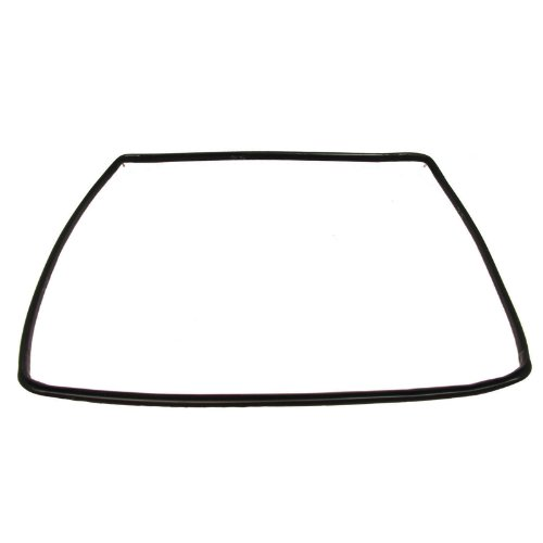 Hotpoint Oven Cooker Door Seal Rubber 4 Sided Gasket with Rounded Corner Clips from Ariston