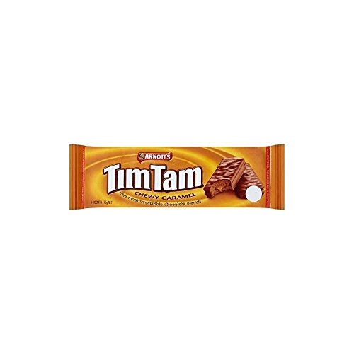 TimTams Arnott's Chewy Thin Layer Caramel Biscuit, 175 g from TimTams
