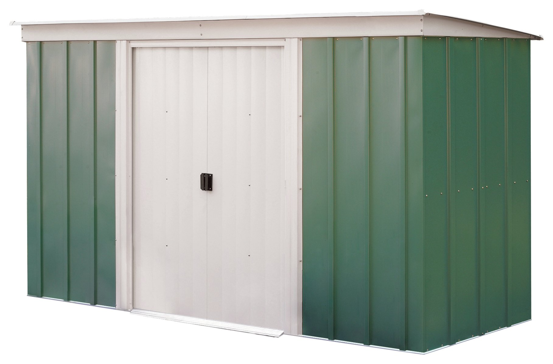 Arrow Metal Garden Shed - 10 x 4ft at Argos from Arrow