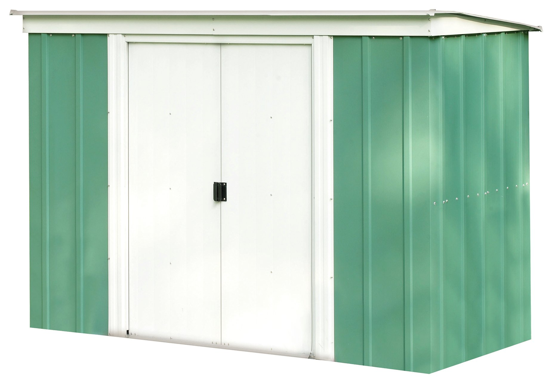 Arrow Metal Garden Shed - 8 x 4ft at Argos from Arrow