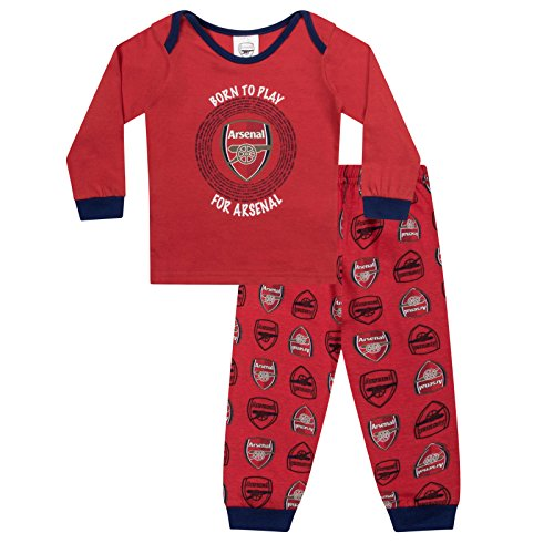 530971220 Arsenal FC Official Football Gift Boys Kids Baby Pyjamas 0-3 Months from Arsenal  F.C.