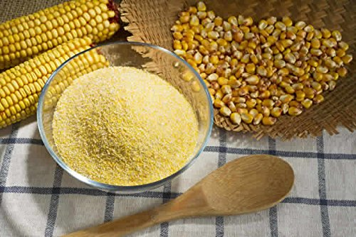 Corn meal Medium Ground Flour (Polenta) Premium Stock Free UK P&P (1kg) from Ash Spice Company