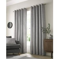 Academy Ready Made Lined Eyelet Curtains Grey from Ashley Wilde