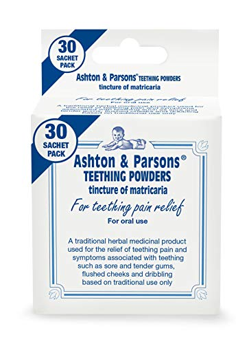 Ashton & Parsons Infants Teething Pain Relief Powder, Pack of 30 from Ashton & Parsons