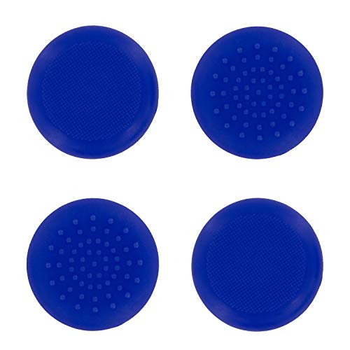 4 x Assecure TPU silicone rubber gel analogue thumb grip stick caps for Xbox One controllers - Blue from Assecure