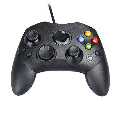 Assecure Compatible Original Black Xbox Slim S Type Wired Controller Gamepad Old Model from Assecure