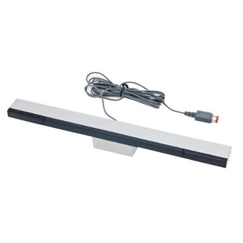 Assecure compatible wired infrared LED Sensor bar for Nintendo Wii U including stand, Wii remote & motion plus compatible. from Assecure
