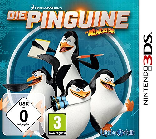 BANDAI NAMCO 3DS the Pinguine aus Madgascar from Atari