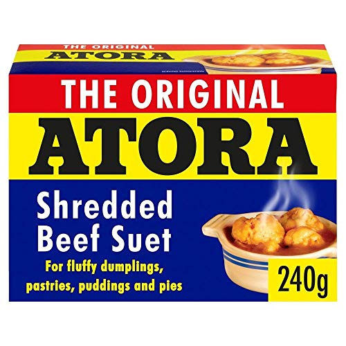 Atora Shredded Beef Suet 200g - Pack of 2 from Atora