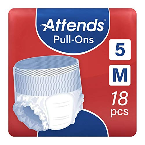 Attends - Pull-Ons - 5 Medium - (Pack of 1 x 18) from Attends