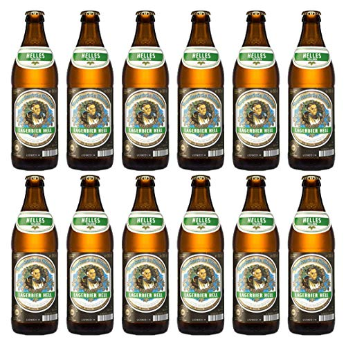 Augustiner Lagerbier Hell 500ml - Case of 12 from Augustiner