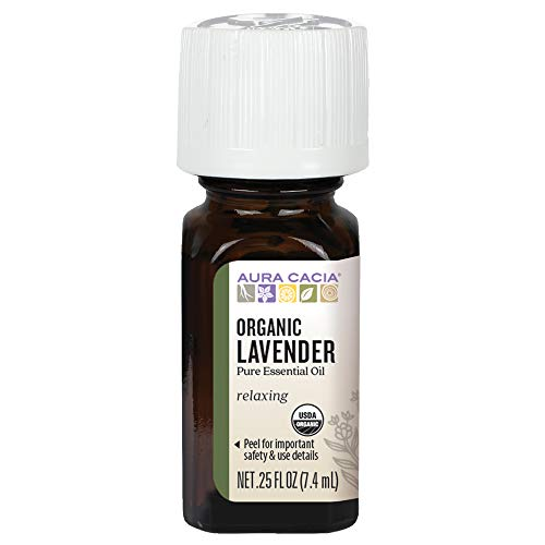 Aura Cacia Organic Lavender Essential Oil 7 ml from Aura Cacia