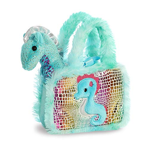 AURORA Fancy Pal Sea Horse 8In 32825 Turquoise from AURORA
