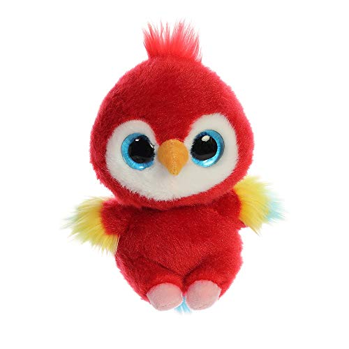 YooHoo Lora Scarlet Macaw 5In 61084 Red from AURORA
