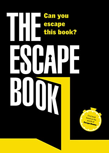 The Escape Book: Can you escape this book? from Aurum Press