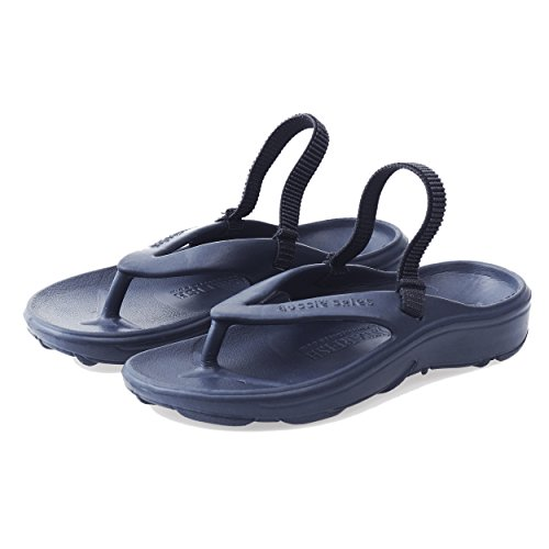 Aussie SolesTM StarfishTM Orthotic Flip Flops for Toddlers and Children - Unisex (29-30 / UK 11-12 - 180 mm, Navy Blue) from Aussie Soles