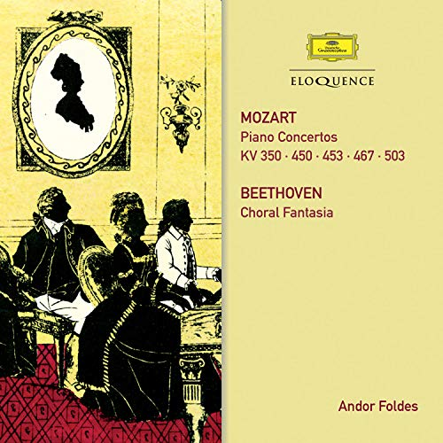 Mozart: Piano Concertos/ Beethoven: Choral Fantasy from Australian Eloquence
