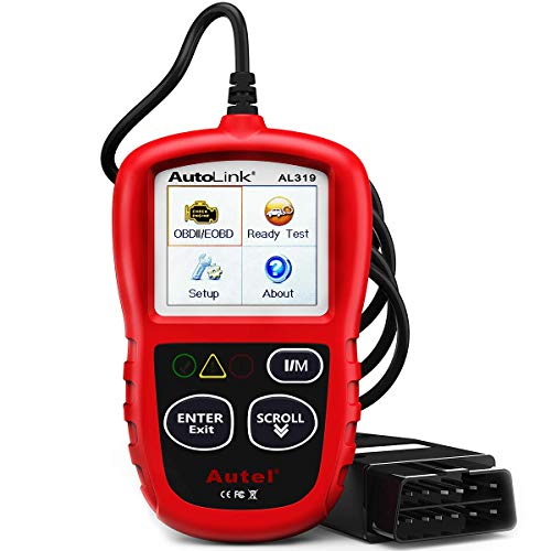 Autel AutoLink AL319 Universal OBD2 Reader Car Diagnostic Scanner Tool Vehcle Engine Fault Code Reader from Autel