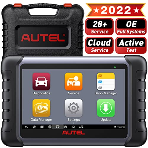 Autel MaxiCOM MK808, OBD 2 Reader / Car Diagnostic Scan Tool Scanner with All Systems & Service Functions, including Oil Reset, EPB, BMS, SAS, DPF, TPMS and IMMO (MD802 + MaxiCheck Pro obd2 scanner) from Autel