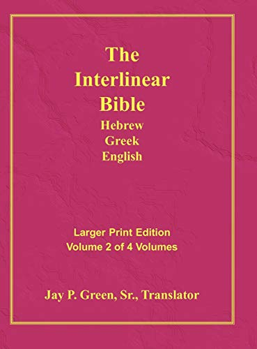 Interlinear Hebrew Greek English Bible-PR-FL/OE/KJ Large Print Volume 2 from Authors For Christ, Inc.