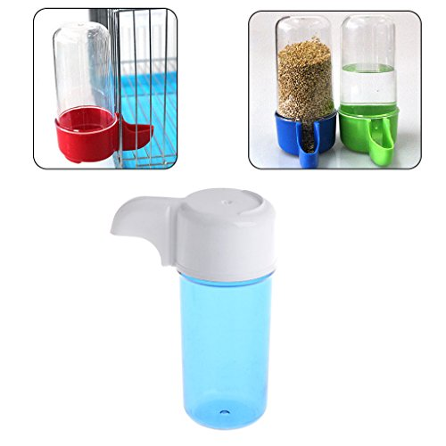 Autone 1PC Bird Feeder, Plastic Feeding Containers for Birds Automatic Water-drinking Dispenser in Birdcage from Autone