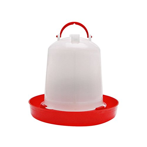 Autone Kettle Shape Plastic Chicken Automatic Water Drinking, Bird Quail Poultry Drink Feeder Implement,1.5L/2.5L/4L (1.5L) from Autone