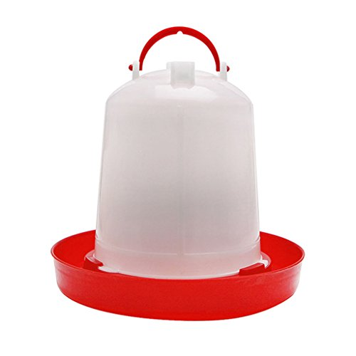 Autone Kettle Shape Plastic Chicken Automatic Water Drinking, Bird Quail Poultry Drink Feeder Implement,1.5L/2.5L/4L (2.5L) from Autone