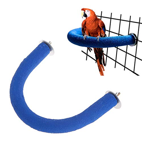 Autone Parrot Perch, U Shape Grinding Mouth Paws Claw Birds Stand Holder Rack Parakeet Pet Toys Cage Decoration Supplies from Autone