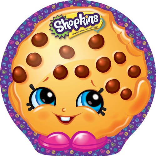 Shopkins Play Tin - Kooky Cookies Sleepover Party (Play Tin Shaped Shopkins) from Autumn Publishing