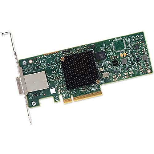 Avago / LSI LSI00343 9300-8e 12Gbps 8 Port SAS SGL PCI-E Host Bus Adaptor from Avago / LSI