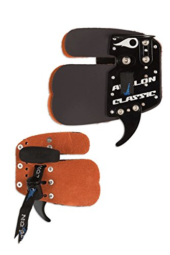 Avalon Archery Classic Leather Prime Finger Tab LH For Recurve Bow (small) from Avalon
