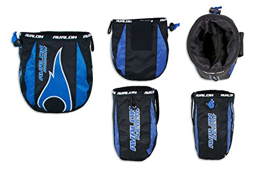 Avalon Archery Compound Bow release Aid Belt Pouch (blue) from Avalon