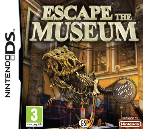 Escape the Museum (Nintendo DS) from Avanquest Software