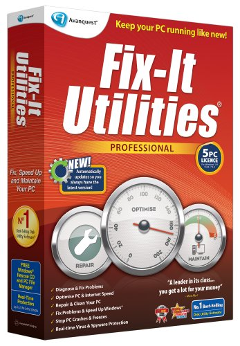 Fix-It Utilities Professional (PC) from Avanquest Software