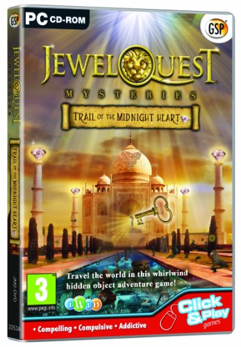 Jewel Quest Mysteries 2: Trail of the Midnight Heart (PC CD) from Avanquest Software