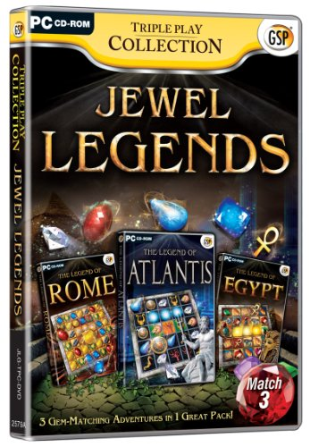 Triple Play Collection: Jewel Legends (PC CD) from Avanquest Software
