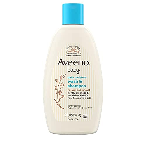 Aveeno Baby Wash & Shampoo 8 fl oz Liquid from Aveeno