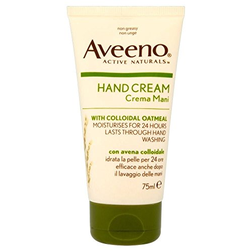 Aveeno Intensive Relief Hand Cream with Oatmeal (75ml) - Pack of 2 from Aveeno