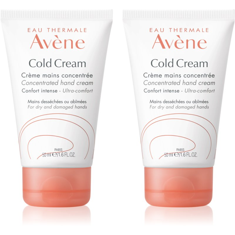 Avène Cold Cream Hand Cream For Dry To Very Dry Skin 2x50 ml from Avène