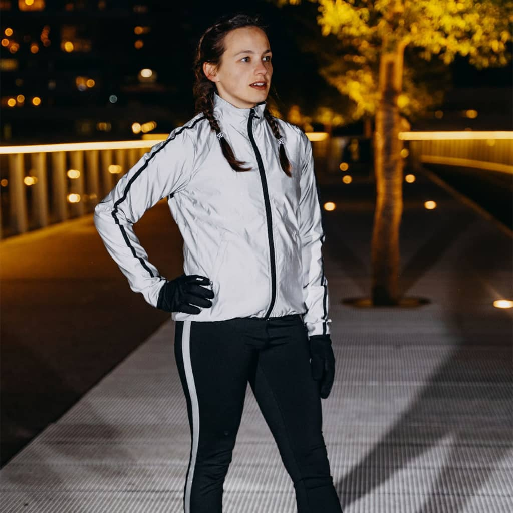 Avento Reflective Running Jacket Women 38 74RB-ZIL-38 from Avento